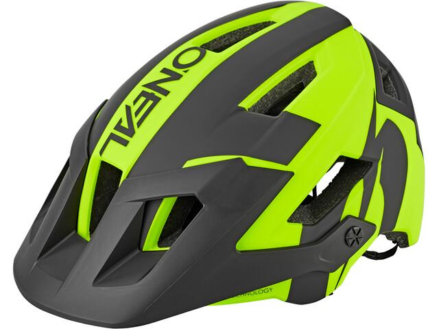 O'Neal Defender 2.0 Helm sliver neon yellow/black